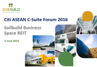 Citi ASEAN C-Suite Forum 2016