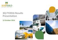 3Q FY2016 Results Presentation