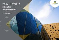 2Q & 1H FY2017 Results Presentation