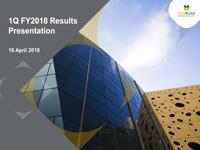 1Q FY2018 Results Presentation