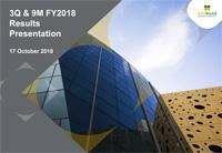 3Q & 9M FY2018 Results Presentation