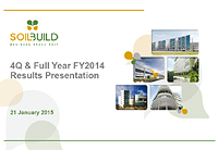 4Q & Full Year FY2014 Results Presentation