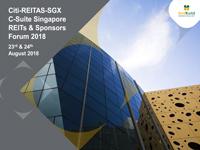 Citi-REITAS-SGX C-Suite Singapore REITs & Sponsors Forum 2018