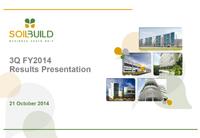3Q FY2014 Results Presentation